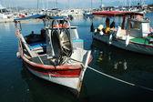 Vessels in Ajaccio harbor, Corsica — Stockfoto