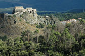 Corte citadellet, Korsika, Frankrike — Stock fotografie