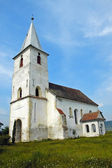 Protestant church in Transylvania, Romania — Stock Photo