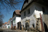 Medieval houses in Rimetea, Torocko, Transylvania — Stock Photo