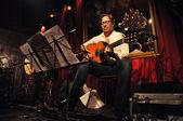 Guitarist legend Al di Meola playing live — Stock Photo