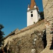 Fortified church of Cristian, Sibiu, Romania — Stock Photo