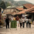 Old town Bascarsija, Sarajevo bazaar — Stock Photo