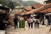 Old town Bascarsija, Sarajevo bazaar — Stock Photo