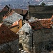 Rasnov citadel, Transylvania, Romania - Stock Photo