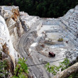 Quarry of white marble, Ruschita, Romania — Stock Photo #9045090
