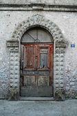 Door entrance, Calvi, Corsica — Stock Photo