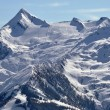 Kitzsteinhorn peak and ski resort, Austria - Stock Photo