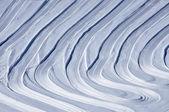 越野滑雪斜坡的阿尔卑斯山,理想的背景 — 图库照片