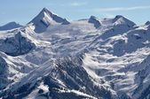 Kitzsteinhorn peak and ski resort, Austria — Stock Photo