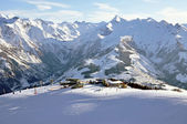 Zell am See ski resort in the Austrian Alps — Stock Photo