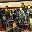 Постер, плакат: CLUJ NAPOCA ROMANIA – MARCH 26: Operators and photographers a