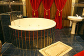 HOTEL ROOM WITH BATH — Stockfoto