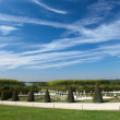 Versailles Garden view from palace, France — Stock Photo