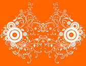 Abstract orange background — Stock Vector