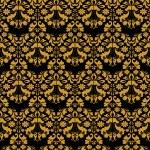 Golden seamless ornament — Stock Vector #9572257