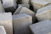 Stone cubes — Stock Photo