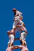 Castellers of Tarragona — Stock Photo
