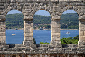 Pula Amphitheatre — Stock Photo