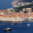 Dubrovnik old town panorama — Stock Photo