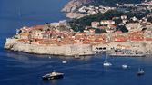 Dubrovnik old town panorama — Stock Photo