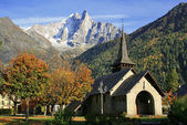 Les Praz de Chamonix — Stock Photo