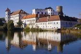 Castle of Jindrichuv Hradec — Stock Photo