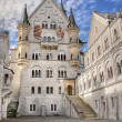 Royalty-Free Stock Photo: Neuschwanstein courtyard