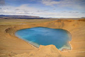 Viti Crater — Stock Photo