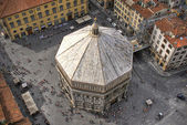 Baptistery of Florence — Stock Photo