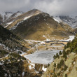 Stock Photo: Vall de Nuria in winter