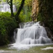Waterfall in the forest — Foto Stock