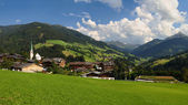 Alpbach valley — Stock Photo