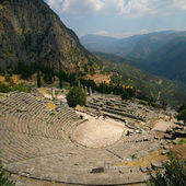 Theatre of Delphi — Stock Photo