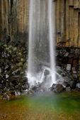Svartifoss falls — Stock Photo