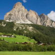 Royalty-Free Stock Photo: Sassongher from Corvara in Badia