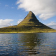 Extinct volcano in Iceland — Stock Photo