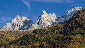 Aiguilles de Chamonix — Stock Photo
