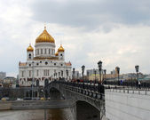 Christ the Savior Church in Moscow, Russia — 图库照片