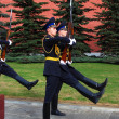 Change of the Guard of Honour at the tomb of the Unknown Soldier — Stock Photo