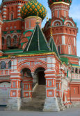 Moscow Kremlin, Red Square, St.Basil Cathedral — Stock Photo