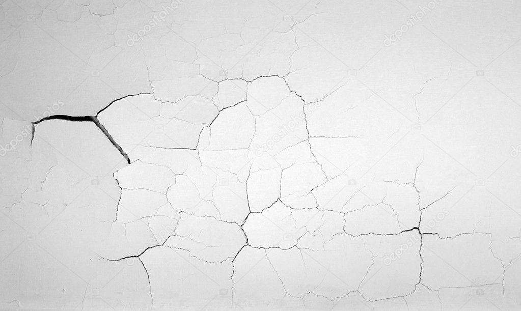 Rachou a textura da parede branca — Fotografias de Stock ...