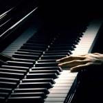 Постер, плакат: Piano pianist hand