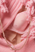 Fashion pink clothes accessory — Stock Photo
