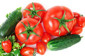 Healthy food vegetables. Fresh produce — Stock Photo