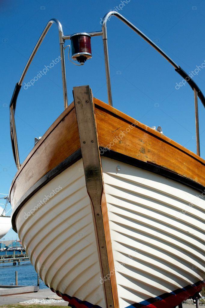 Как сделать нос лодки