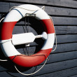 Stock Photo: Life buoy preserver ring belt