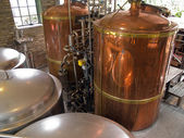 Brouwerij brouwsel huis in een restaurant — Stockfoto