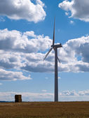 Modern alternative energy - vertical image — Stock Photo
