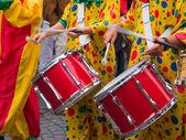 里约巴西桑巴 cranival 音乐 — 图库照片